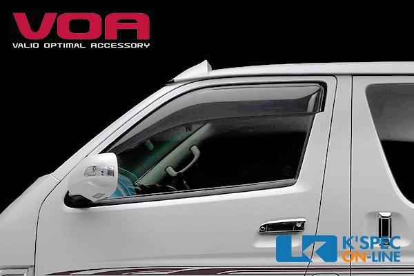 VOA ドアバイザー 200系ハイエース ヤフオク